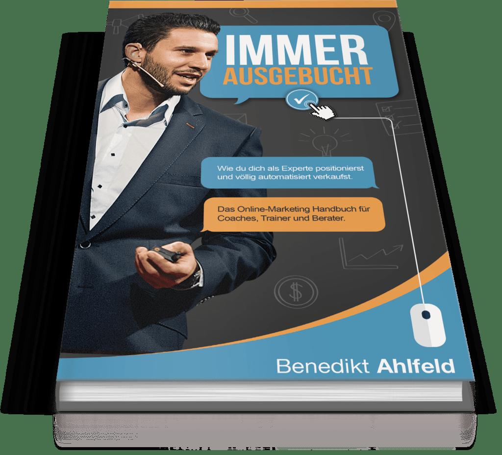Immer ausgebucht - gratis Buch von Ben Ahlfeld erfahrungen