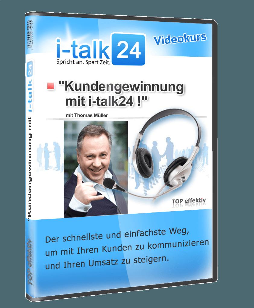 Kundengewinnung mit i-talk24 erfahrungen