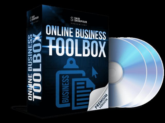 Online Business Toolbox von Said Shiripour erfahrungen