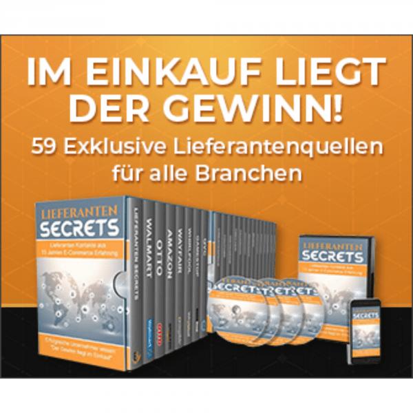 59 Lieferanten Secrets kaufen