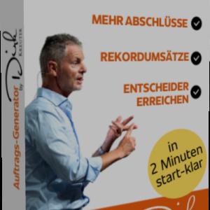 Der Auftrags Generator by Dirk Kreuter Erfahrungen