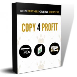 Copy 4 Profit von Florian Nickl Erfahrungen