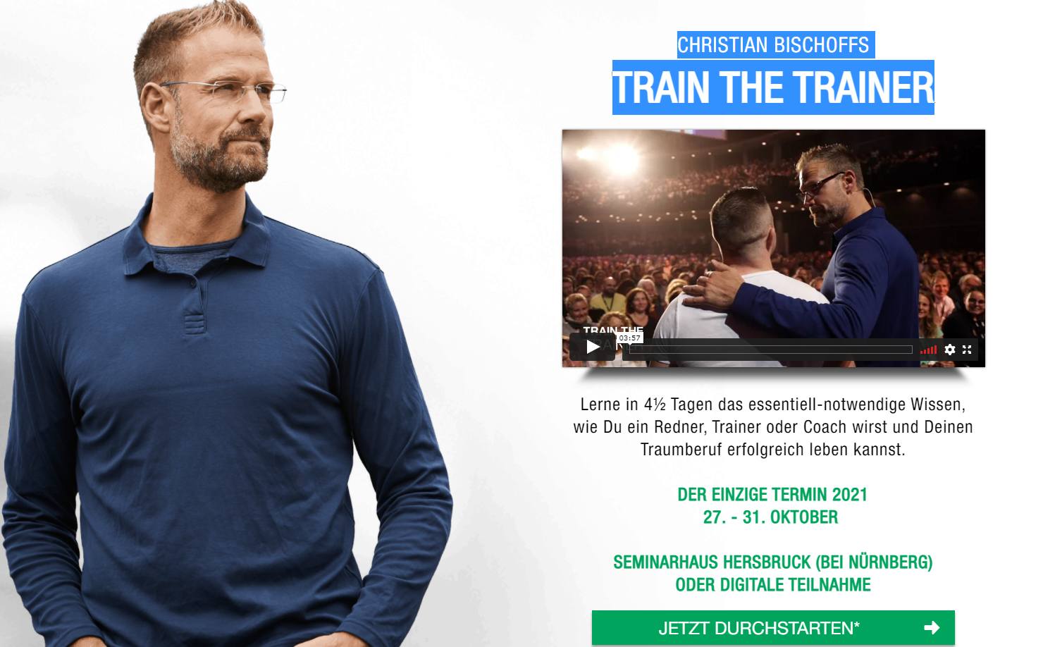 Train The Trainer von Christian Bischoff Event