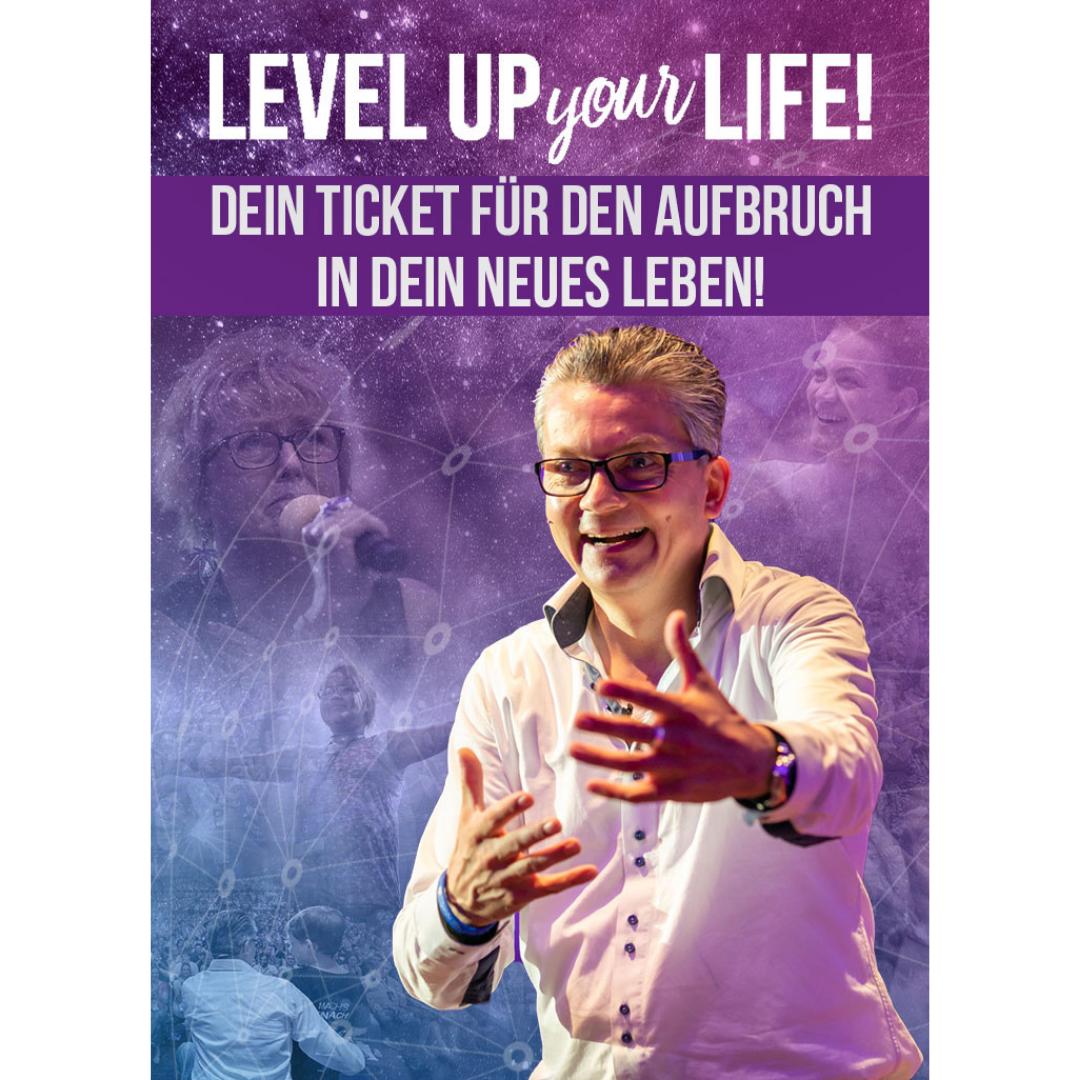 LEVEL UP YOUR LIFE von Damian Richter in BlaubeurenEvent