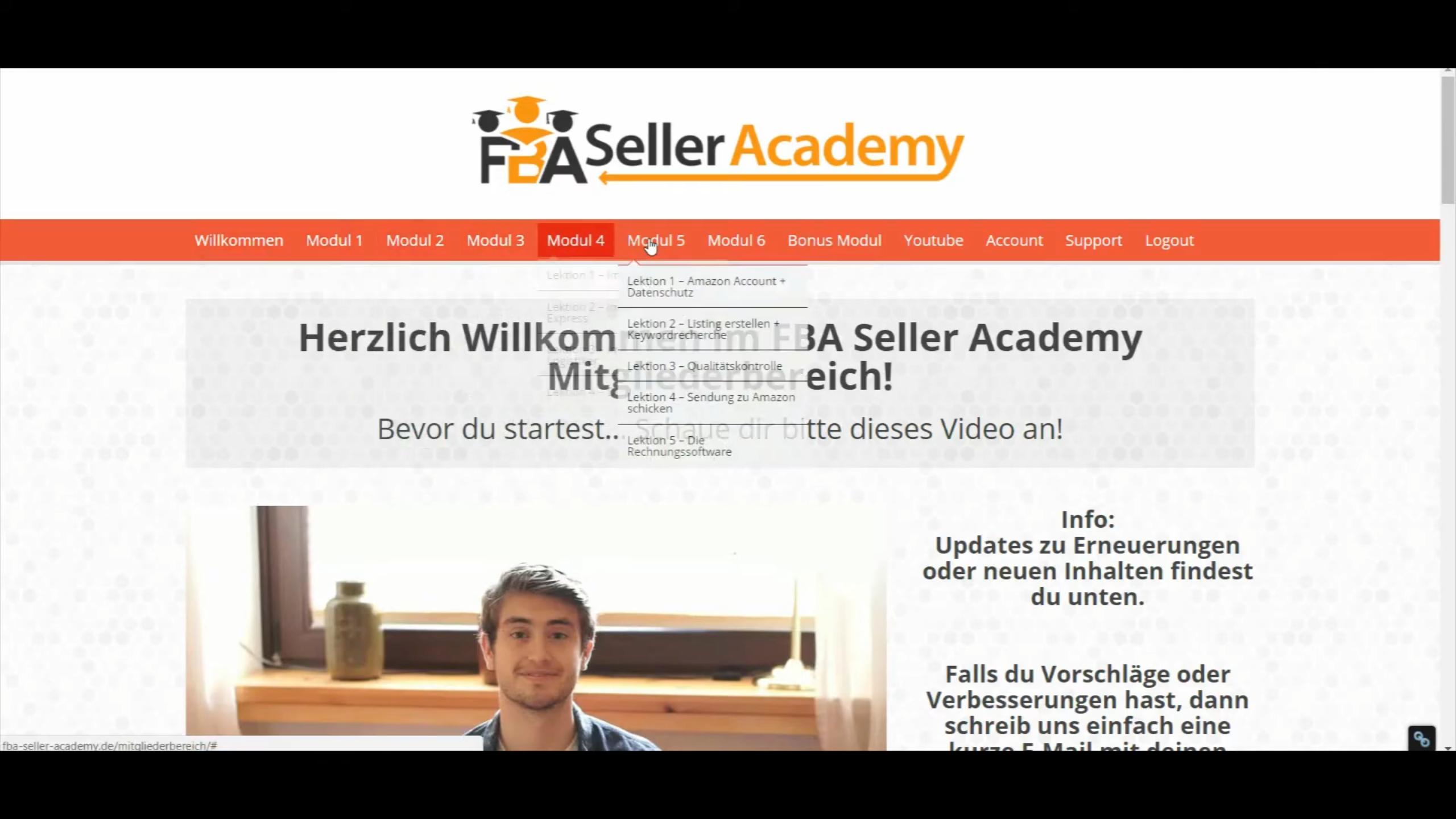 FBA Seller Academy Erfahrungen