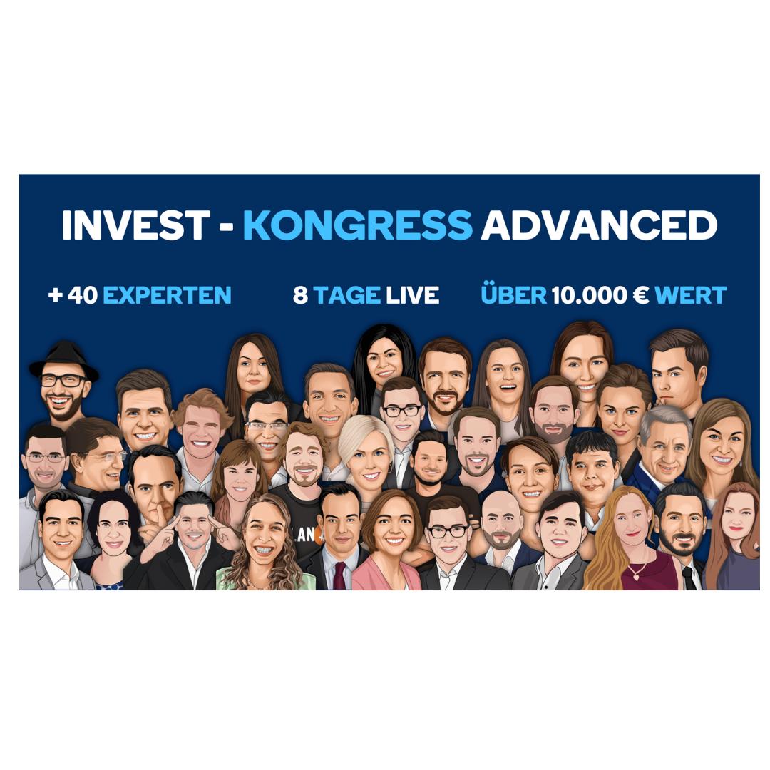 INVEST-KONGRESS ADVANCED 2021 Tickets kaufen