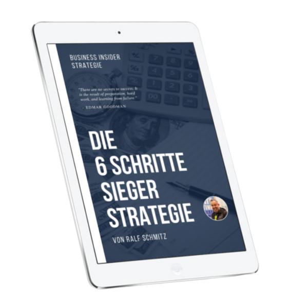 6 Schritte Sieger Strategie von Ralf Schmitz Erfahrungen