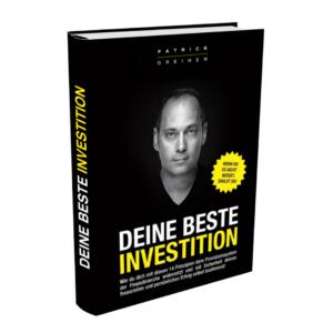 Deine beste Investition Buch von Patrick Greiner Erfahrungen